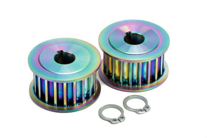 Titanium Motor Pulleys