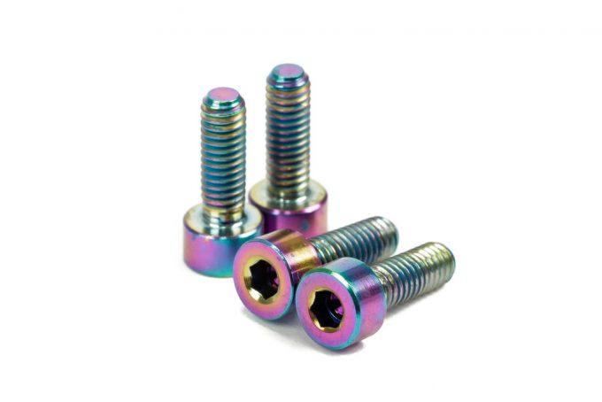 Titanium Motor Screws (M4 X 12)