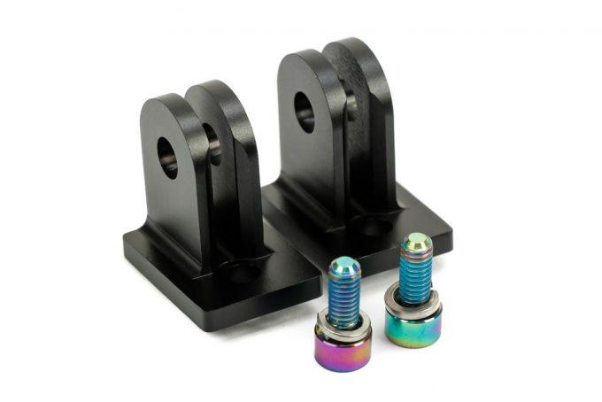 Aluminum Light Mounts for Lacroix HyBeam™ (2pcs + 2x M4*10 ti screws)