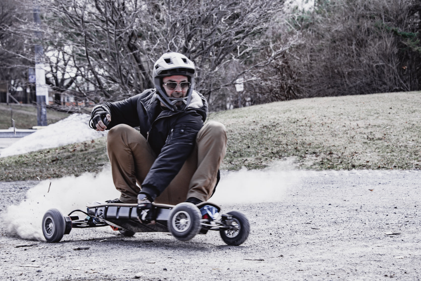 Can you ride a skateboard offroad?